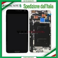 Display Schermo Per Samsung Galaxy Note 3 N9005 LCD Vetro +Telaio Touch Screen