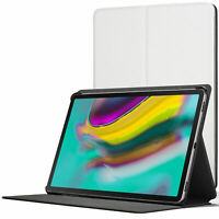 Samsung Galaxy Tab S5e 10.5 Smart Case Cover Stand | White + Stylus Protector