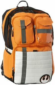 Star Wars Rebel Alliance Icon Cos Backpack School Bag Travel Rucksack Laptop Bag