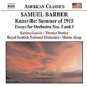 Barber - Knoxville: Summer of 1915, Op 24; Toccata Festiva, Op 24,  CD   0636943