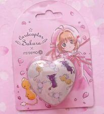 Japan Kawaii Cardcaptor Sakura its demo Makeup Tin Can Heart Lip Color Balm