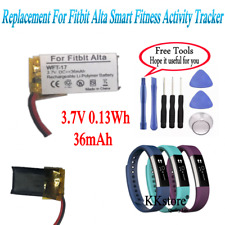 Smart Fitness Activity Tracker New Replacement Battery 36mAh for Fitbit Alta