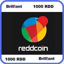 1 Hour Mining Contract ReddCoin (RDD) 1000 Reddcoin