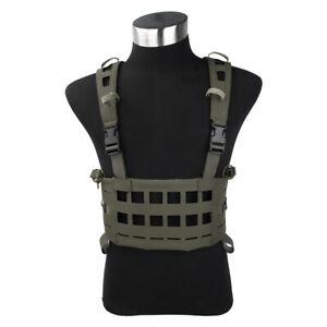 TMC3351-RG CCR Tactical Vest H-Harness Air Light Chest Rig Size M Rangers Green