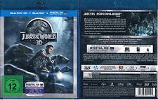 JURASSIC WORLD --- 3D Blu-ray --- 3D + 2D Version --- der Kinohit ---