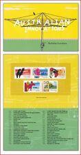 AUS0410FOL Australian innovation, birds, cars, kangaroos, folder