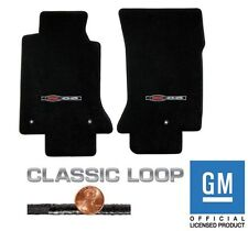 2001-2004 C5 Corvette Z06 Lloyd Classic Loop Front Floor Mats Package w/Logos