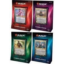 MTG Magic the Gathering 2018 SET OF 4 Sealed ENG Commander EDH Decks