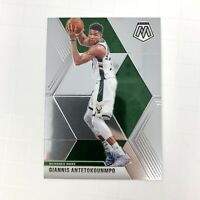 NBA 2019-20 Panini Mosaic Giannis Antetokounmpo Milwaukee Bucks Card 75