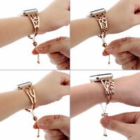 Stainless Steel Bracelet iWatch Band Women Strap for Apple Watch Series 5 4 3 2