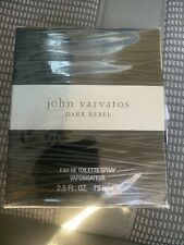 JOHN VARVATOS DARK REBEL * 2.5 oz (75 ml) EDT Spray * NEW & SEALED