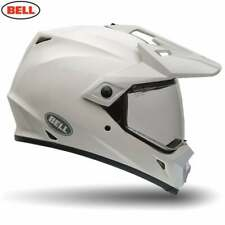 Bell Adults MX-9 Adventure MIPS Dual Sport Motor Bike Helmet - Solid White