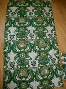 2 schöne alte Gardinen Vorhänge Schals aus den 70er Jahren - VINTAGE