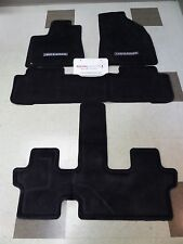 Toyota Highlander 2014 - 2018 Carpet Floor Mats Set Genuine OEM (3rd Row/Heater)