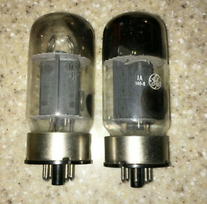 Pair (2) - Matched - GE 6550-A - Hickok tested - VINTAGE