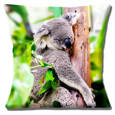 Linda Cubierta Cojín Sleepy Koala Oso De 16 pulgadas 40cm árbol de fotografías de animales de Australia