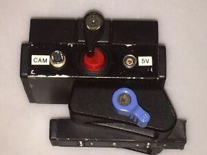 REDROCK MICRO Strom Verteiler für Kamera- Rig mit Manfrotto schnellwechselSystem