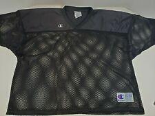 Champions Student Football Practice Jersey, Black, Size XXL/XXXL