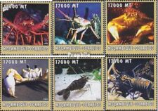 Mosambik 2578-2583 postfris MNH 2002 Wereld van Marine