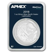 2 $ Dollar Darth Vader Star Wars Niue Island Apmex MD® Premier 1 oz Silber 2018