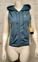 Adidas Womens Size S Zip Up Hoodie Vest NWT Retail $48