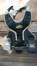 Catcher's Gear Lot- Chest Protector, Face Mask, and Knee Cushing