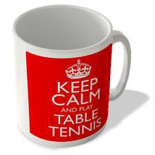 Keep Calm and Play Table Tennis - Mug