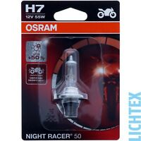 H7 OSRAM Night Racer +50 - mehr Performance Modernes Design NEU