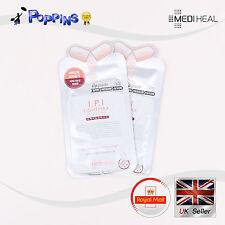 2x nuevo mediheal i.p.i IPI lightmax Ampolla Hoja de Máscara Pack Reino Unido Stock