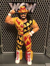 WCW Macho Man Randy Savage wrestling figure OSFTM classic toy WWE LJN WWF NWO Oh