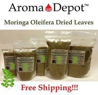 Moringa Dried Leaves 100% Pure Natural Organic Oleifera Leaf 5oz 8 oz 1 Lb 1.5Lb