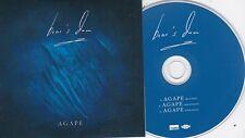 BEAR'S DEN AGAPE RARE 3 TRACK PROMO CD