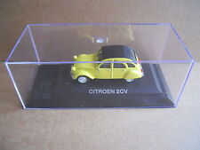 CITROEN 2 CV Legendary Cars 1:43 Die Cast in Box in Plexiglass [MV10]