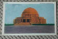 VINTAGE AMERICAN POSTCARD, The Adler Planetarium  , CHICAGO 1933