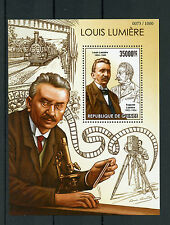Guinea 2015 MNH Louis Lumiere 1v S/S Auguste Cinematography Film Makers Stamps