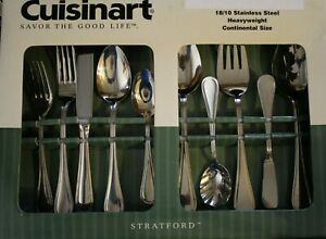CUISINART FLATWARE Stratford Open Stock- You Choose Group 18/10 Unused Stainless