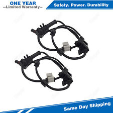2PCS Front ABS Wheel Speed Sensor For 2002-2009 Chevrolet Trailblazer GMC Envoy