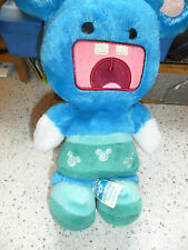 "Disney Resorts - Mickey Monsters Blue Plush Murff Mouse 9"" High - New W/O Tags"