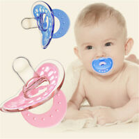 Bébé nouveau-né suceur sucette Soother silicone Teether mamelon PM