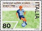 # ITALIA ITALY - 1980 - European Champ. Calcio Football Soccer Sport - Stamp MNH