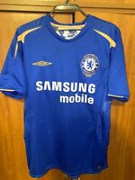 Vintage Chelsea Umbro Centenary Football Shirt Jersey men's size S England