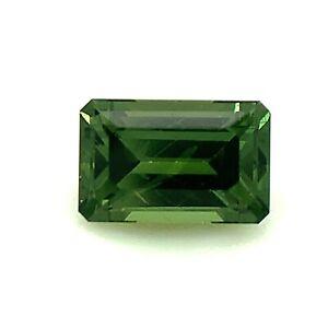 0.7ct Green Sapphire from Australia, Unheated, VS, Natural Gemstone *Video*
