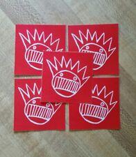 5 ween stickers. boognish