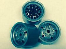 NEW Granada Wheels V12 1:12 RC Banger Saloon Stock 1300 Kamtec £3.99 Silver