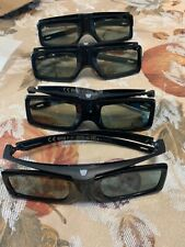 Set of 4. SONY TDG-BT400A Active 3D Glasses