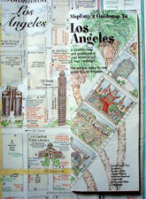 NEW-2007-MAP OF LOS ANGELES,CA- MapEZGuide w/Rodeo Drive,Santa Monica,Downtown