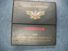 HONDA 2000 GL1500 GOLDWING SERVICE & ELECTRICAL TROUBLESHOOTING MANUAL SHOP