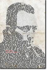Albert Camus tipográfica Cartel única impresión de arte Foto Regalo citar