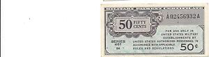 MPC Series 461  50 Cents Clean  EF