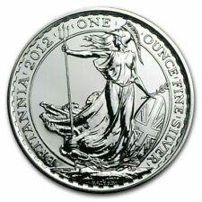 2012 1 oz Silver Britannia Coin UK Great Britain Queen Elizabeth II *Mint Sealed